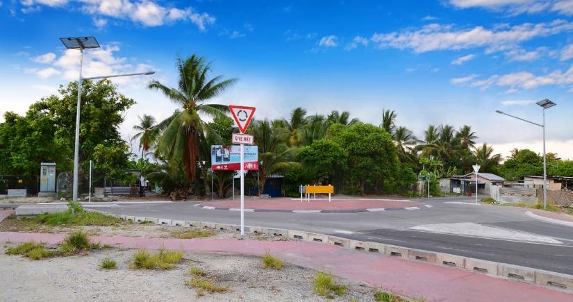 Bikenibeu Roundabout